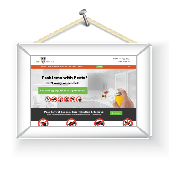 pest protect frame